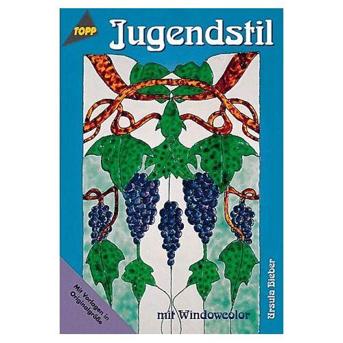 Ursula Bieber - Jugendstil mit Windowcolor. - Preis vom 23.02.2021 06:05:19 h