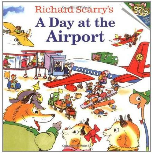 Richard Scarry - Richard Scarrys A Day at the Airport - Preis vom 22.10.2020 04:52:23 h