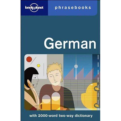 Lonely Planet Publications - German Phrasebook (Lonely Planet Phrasebook: German) - Preis vom 31.10.2020 05:52:16 h