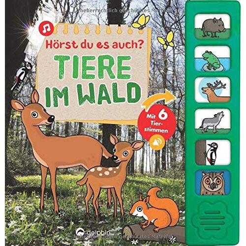 Sandra Noa - Hörst du es auch? Tiere im Wald: Mit 6 Tierstimmen - Preis vom 07.03.2021 06:00:26 h