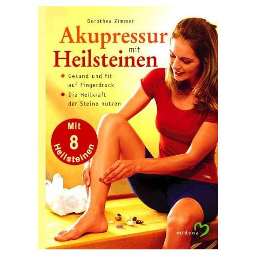Dorothea Zimmer - Akupressur mit Heilsteinen, m. 8 Heilsteinen - Preis vom 28.02.2021 06:03:40 h