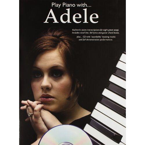 Adele - Play Piano with... Adele (Play Piano With Book & CD) - Preis vom 25.01.2021 05:57:21 h