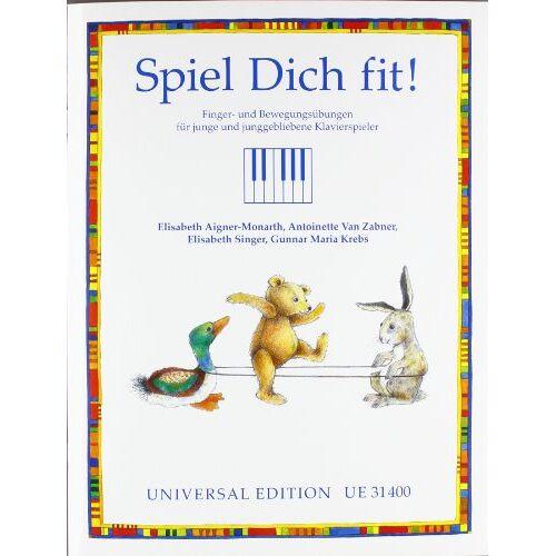 Elisabeth Monarth - Spiel Dich fit!, für Klavier - Preis vom 21.10.2020 04:49:09 h