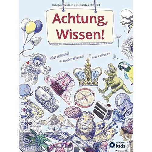 Christa Pöppelmann - Achtung, Wissen!: Nix wissen, mehr wissen, alles wissen - Preis vom 08.04.2021 04:50:19 h