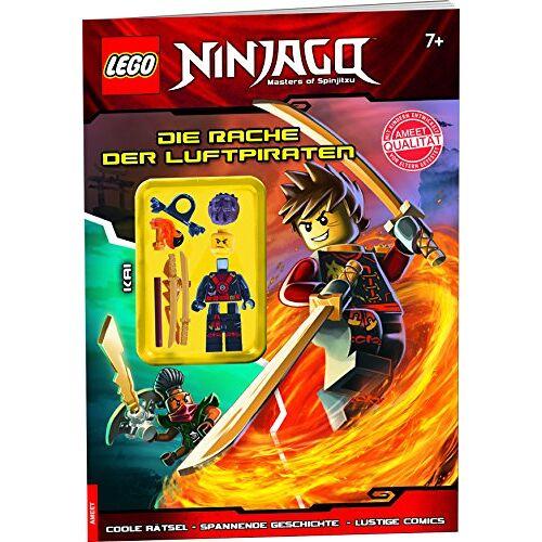 - LEGO® NINJAGOTM Die Rache der Luftpiraten: Rästelbuch mit Minifigur - Preis vom 26.02.2020 06:02:12 h