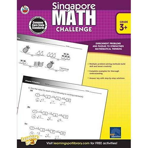 Singapore Asian Publishers - Singapore Math Challenge, Grades 3 - 5 - Preis vom 16.04.2021 04:54:32 h