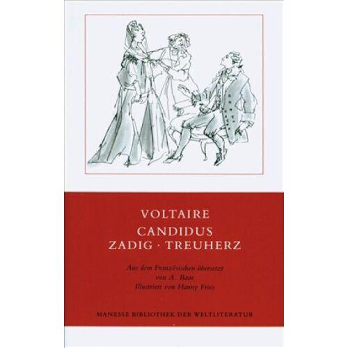 Voltaire - Candidus - Zadig - Treuherz: Drei Erzählungen - Preis vom 08.05.2021 04:52:27 h