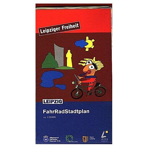 Stadt Leipzig - FahrRadStadtplan Leipzig - Preis vom 04.09.2020 04:54:27 h