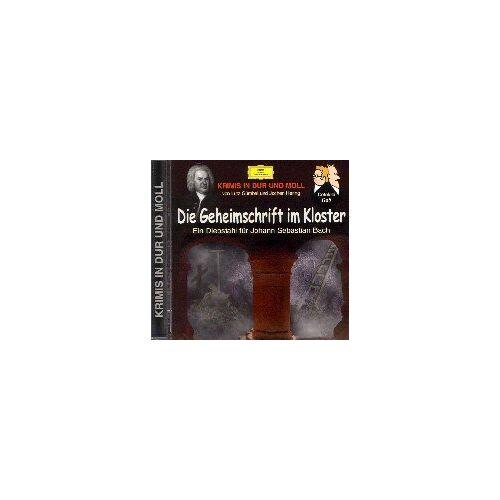 Lutz Gümbel - Die Geheimschrift im Kloster. CD: Ein Diebstahl für Johann Sebastian Bach - Preis vom 10.09.2020 04:46:56 h