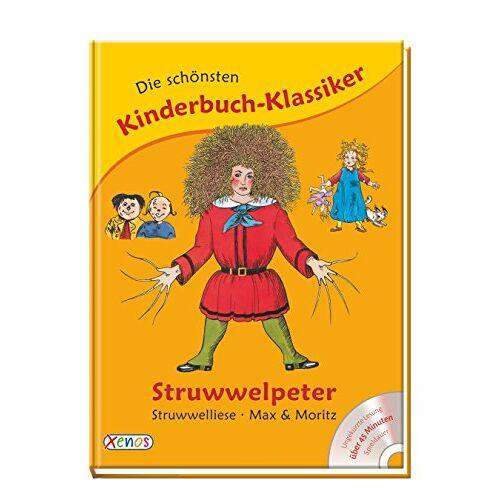 - Die schönsten Kinderbuch-Klassiker: Struwwelpeter, Struwwelliese, Max & Moritz: Struwwelpeter, Struwwelliese, Max und Moritz - Preis vom 07.05.2021 04:52:30 h