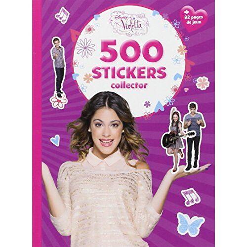 Disney Violetta, 500 stickers collector - Preis vom 17.04.2021 04:51:59 h