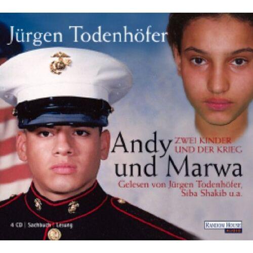 Jürgen Todenhöfer - Andy und Marwa. 4 CDs . Zwei Kinder und der Krieg - Preis vom 18.10.2020 04:52:00 h