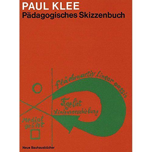 Paul Klee - Pädagogisches Skizzenbuch (Neue Bauhausbücher) - Preis vom 07.04.2020 04:55:49 h