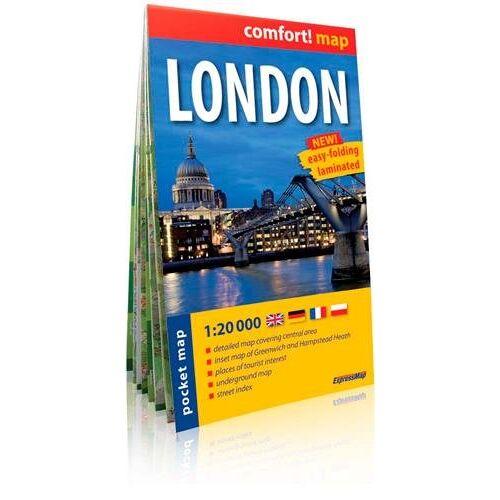 Express Map - London 1 : 20 000: ExpressMap (City Plan Pockets) - Preis vom 12.05.2021 04:50:50 h