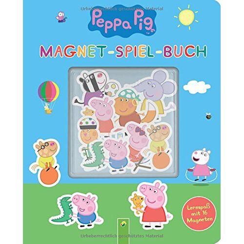 Laura Teller - Peppa Pig Magnet-Spiel-Buch: Lernspaß mit 16 Magneten - Preis vom 25.05.2020 05:02:06 h
