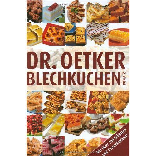 Dr. Oetker - Blechkuchen von A-Z - Preis vom 04.09.2020 04:54:27 h