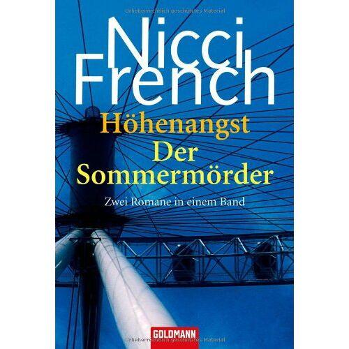 Nicci French - Höhenangst/Der Sommermörder: Zwei Romane in einem Band - Preis vom 02.06.2020 05:03:09 h