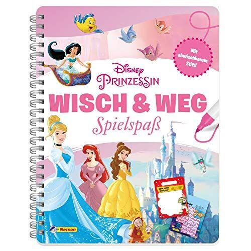 - Disney Prinzessin: Wisch & Weg: Buch mit abwischbaren Seiten und Stift - Preis vom 14.04.2021 04:53:30 h