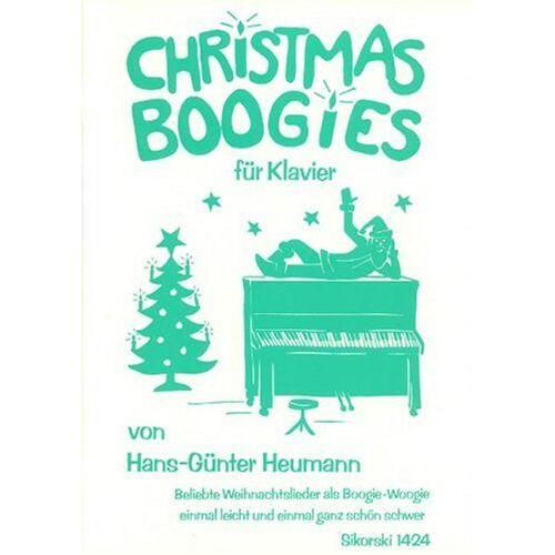Hans-Günter Heumann - Christmas Boogies. Klavier - Preis vom 20.10.2020 04:55:35 h