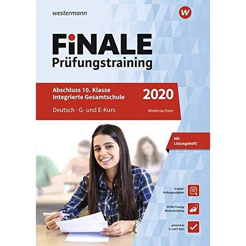 Jelko Peters - FiNALE Prüfungstraining Abschluss Integrierte Gesamtschule Niedersachsen: Deutsch 2020 Arbeitsbuch mit Lösungsheft - Preis vom 10.05.2021 04:48:42 h