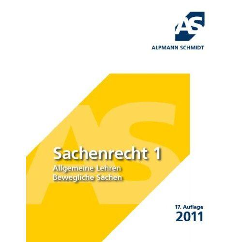 Dr. Till Veltmann - Sachenrecht 1 - Preis vom 20.10.2020 04:55:35 h