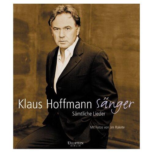 Klaus Hoffmann - Klaus Hoffmann Sänger: Sämtliche Lieder - Preis vom 20.10.2020 04:55:35 h