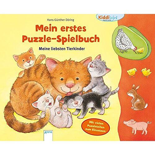 Hans-Günther Döring - Mein erstes Puzzle-Spielbuch. Meine liebsten Tierkinder: Kiddilight - Preis vom 10.05.2021 04:48:42 h