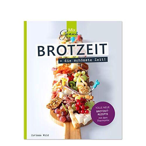 Corinna Wild - BROTZEIT = die schönste Zeit!: Tolle neue Brotzeit-Rezepte mit dem Thermomix - Preis vom 17.04.2021 04:51:59 h