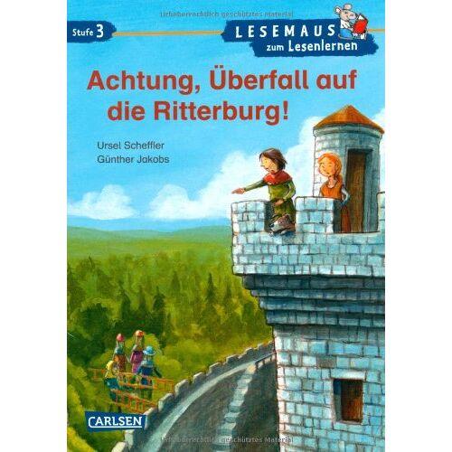 Ursel Scheffler - LESEMAUS zum Lesenlernen Stufe 3: Achtung, Überfall auf die Ritterburg! - Preis vom 06.04.2021 04:49:59 h