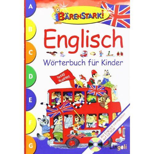 Andrea Dami - Bärenstark! Englisch Wörterbuch für Kinder: Mit Englisch-Lernspielen auf CD-ROM - Preis vom 13.05.2021 04:51:36 h