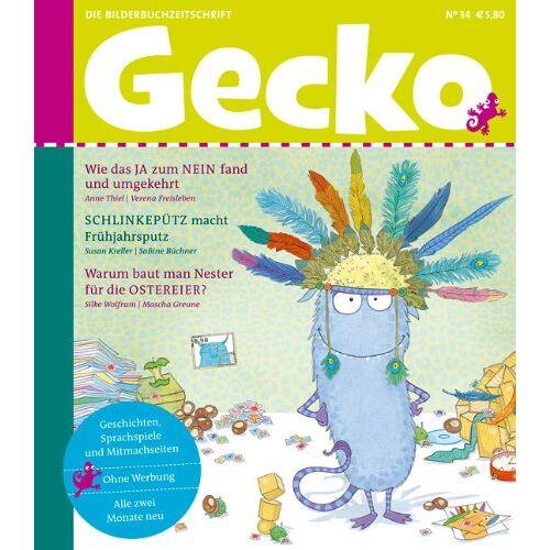 Anne Thiel - Gecko Kinderzeitschrift Band 34: Die Bilderbuch-Zeitschrift - Preis vom 18.04.2021 04:52:10 h