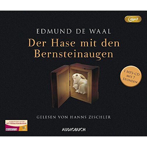 Edmund De Waal - Der Hase mit den Bernsteinaugen (MP3-CD mit 428 Minuten) - Preis vom 12.04.2021 04:50:28 h