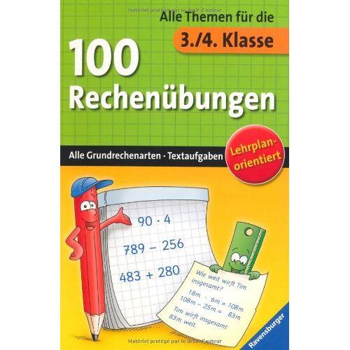 - 100 Rechenübungen (3./4. Klasse) - Preis vom 20.10.2020 04:55:35 h
