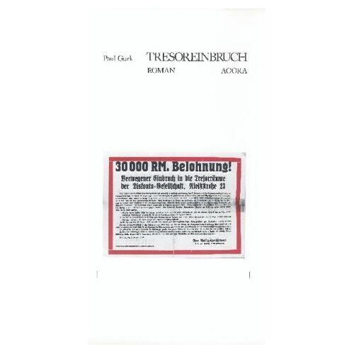 Paul Gurk - Tresoreinbruch - Preis vom 05.09.2020 04:49:05 h