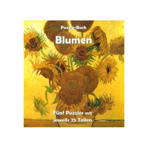 Carl, Klaus H. - Blumen: Puzzle-Buch - Preis vom 15.05.2021 04:43:31 h