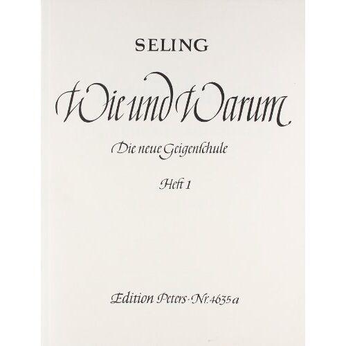 Seling Hugo - Wie und Warum - Die neue Geigenschule, Heft 1: Die Griffarten - Preis vom 20.10.2020 04:55:35 h