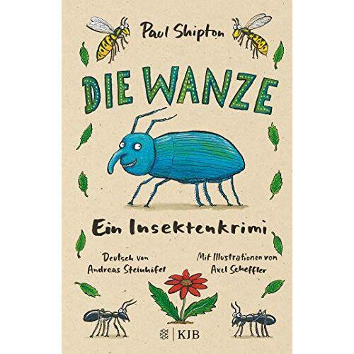 Paul Shipton - Die Wanze: Ein Insektenkrimi - Preis vom 18.04.2021 04:52:10 h
