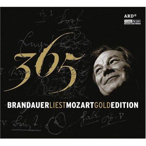 Klaus Maria Brandauer - Brandauer liest Mozart - 365 Briefe: Gold Edition. Lesung - Preis vom 11.05.2021 04:49:30 h