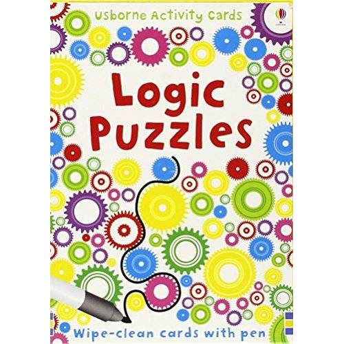 Sarah Khan - Logic Puzzles: Puzzle Cards (Usborne Puzzle Cards) - Preis vom 23.01.2021 06:00:26 h