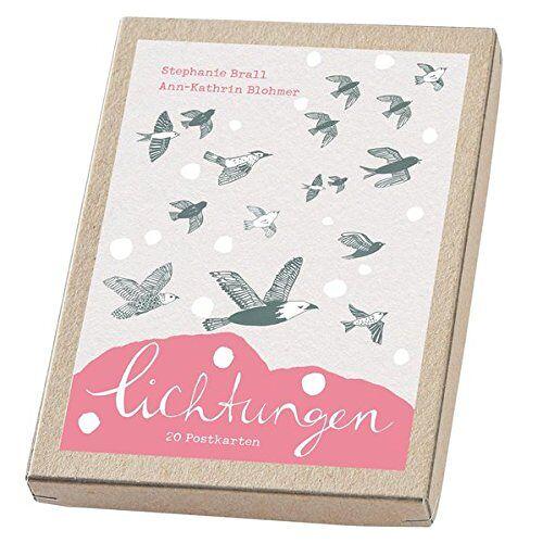 Ann-Kathrin Blohmer - Lichtungen - Postkartenset: 18 Postkarten im Karton - Preis vom 20.11.2019 05:58:49 h