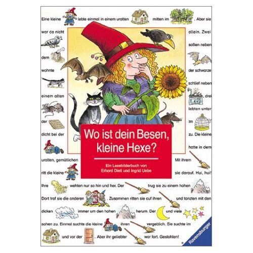 Ingrid Uebe - Lesebilderbuch: Wo ist dein Besen, kleine Hexe? - Preis vom 28.05.2020 05:05:42 h
