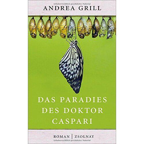 Andrea Grill - Das Paradies des Doktor Caspari: Roman - Preis vom 24.02.2021 06:00:20 h