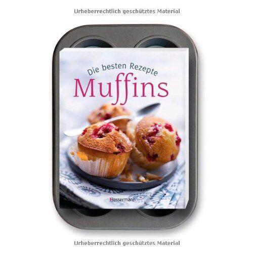 Cornelia Klaeger - Muffins-Set: Die besten Rezepte: Buch und passendes 6-er Muffinsbackblech - Preis vom 04.09.2020 04:54:27 h