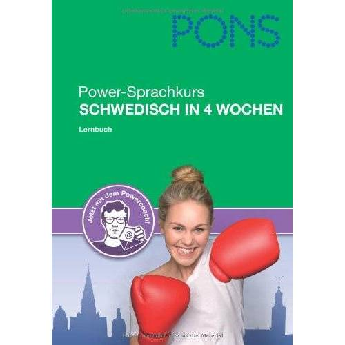 - PONS Power-Sprachkurs Schwedisch: Lernen Sie Schwedisch in 4 Wochen - Preis vom 04.08.2020 04:49:41 h