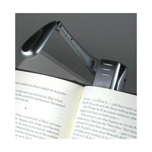 - Clip-On Booklight - Silber - Leselampe: Ultrahelle LED Leselampe mit Clip - Preis vom 23.01.2020 06:02:57 h