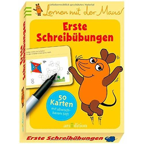 - Lernen mit der Maus - Erste Schreibübungen - Preis vom 13.05.2021 04:51:36 h