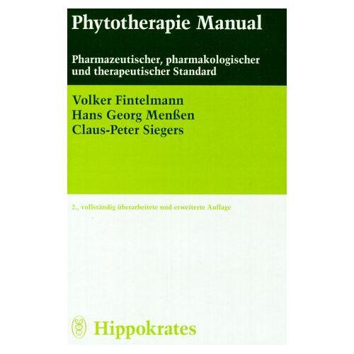 Volker Fintelmann - Phytotherapie Manual - Preis vom 16.05.2021 04:43:40 h