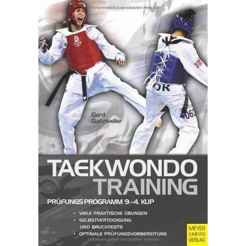 Gerd Gatzweiler - Taekwondotraining - Prüfungsprogramm 9.-4. Kup - Preis vom 20.10.2020 04:55:35 h