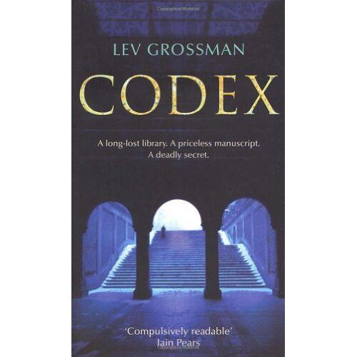 Lev Grossman - Codex - Preis vom 18.04.2021 04:52:10 h