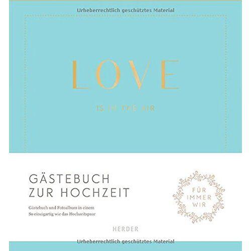 Susanne Rademacher - Love is in the air: Gästebuch zur Hochzeit - Preis vom 22.01.2020 06:01:29 h